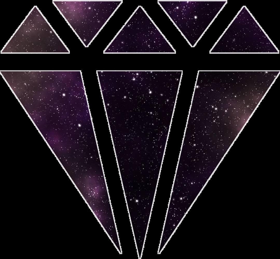 Stars sticker by faith. Galaxy clipart galaxy diamond