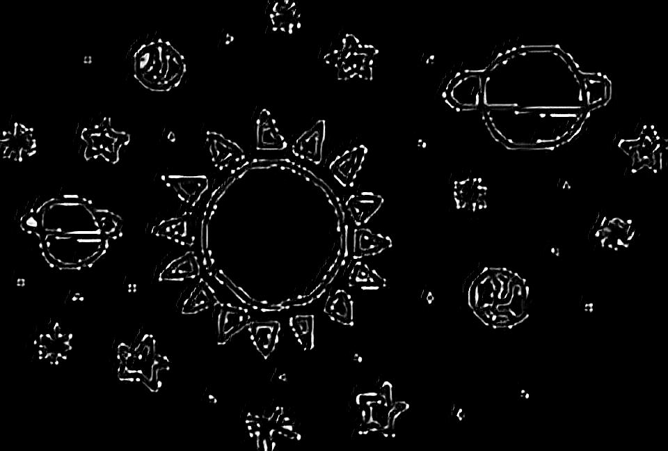 Galaxia luna sol sticker. Galaxy clipart galaxy tumblr