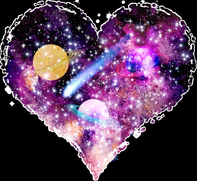 Galaxy clipart heart. Schearts hearts remixit freetoedit