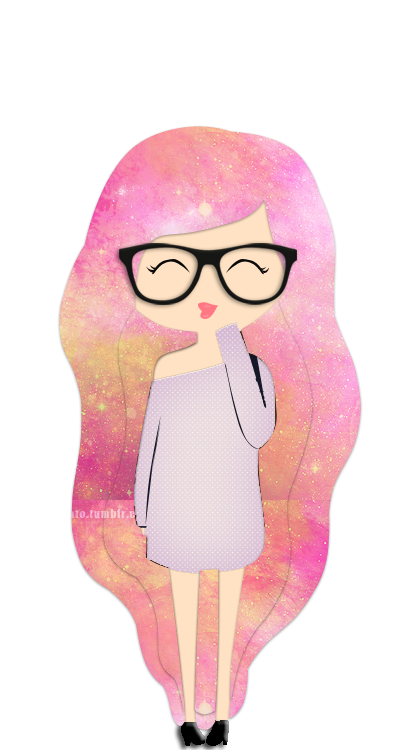 Galaxy clipart hipster. Doll shared by adriaexx