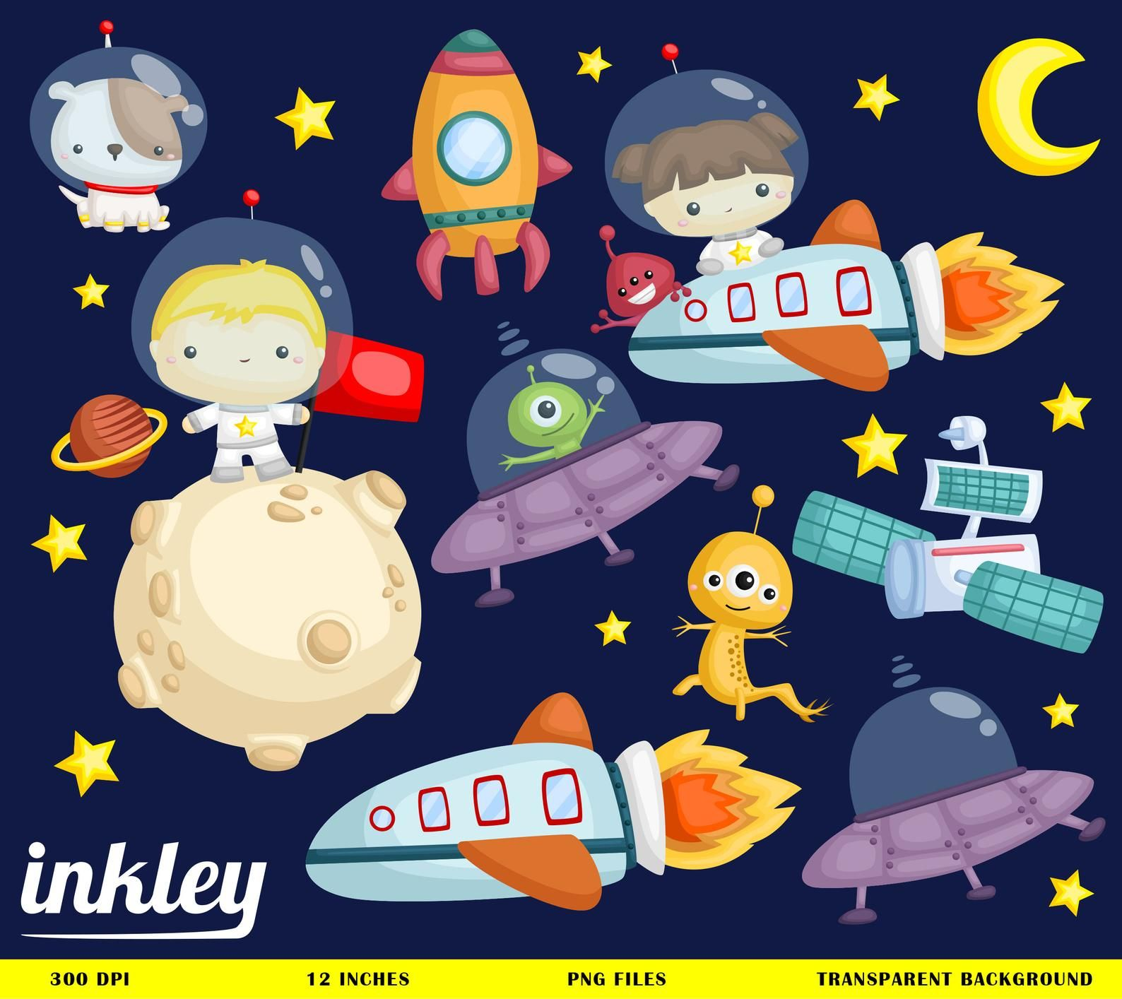 Pin on space . Galaxy clipart kid