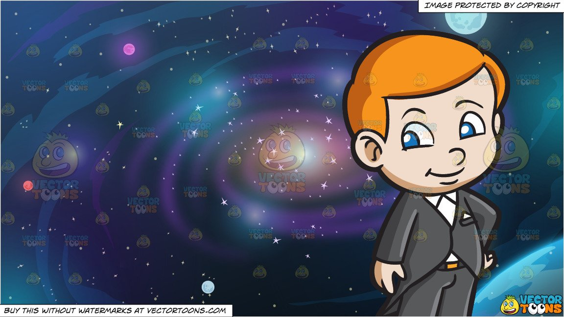 Galaxy clipart kid. A rich and background