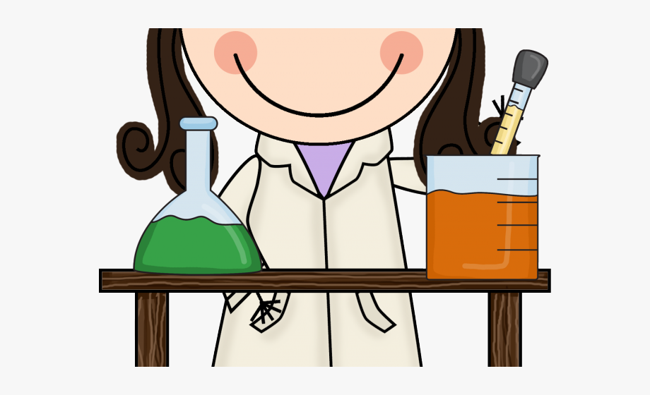 Galaxy girl clip art. Scientist clipart elementary science