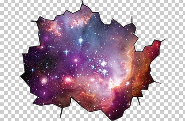 Outer space star hubble. Galaxy clipart large