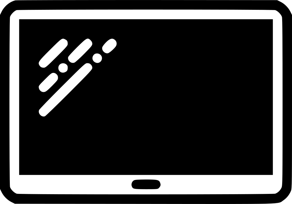 Tab svg png icon. Galaxy clipart monochrome