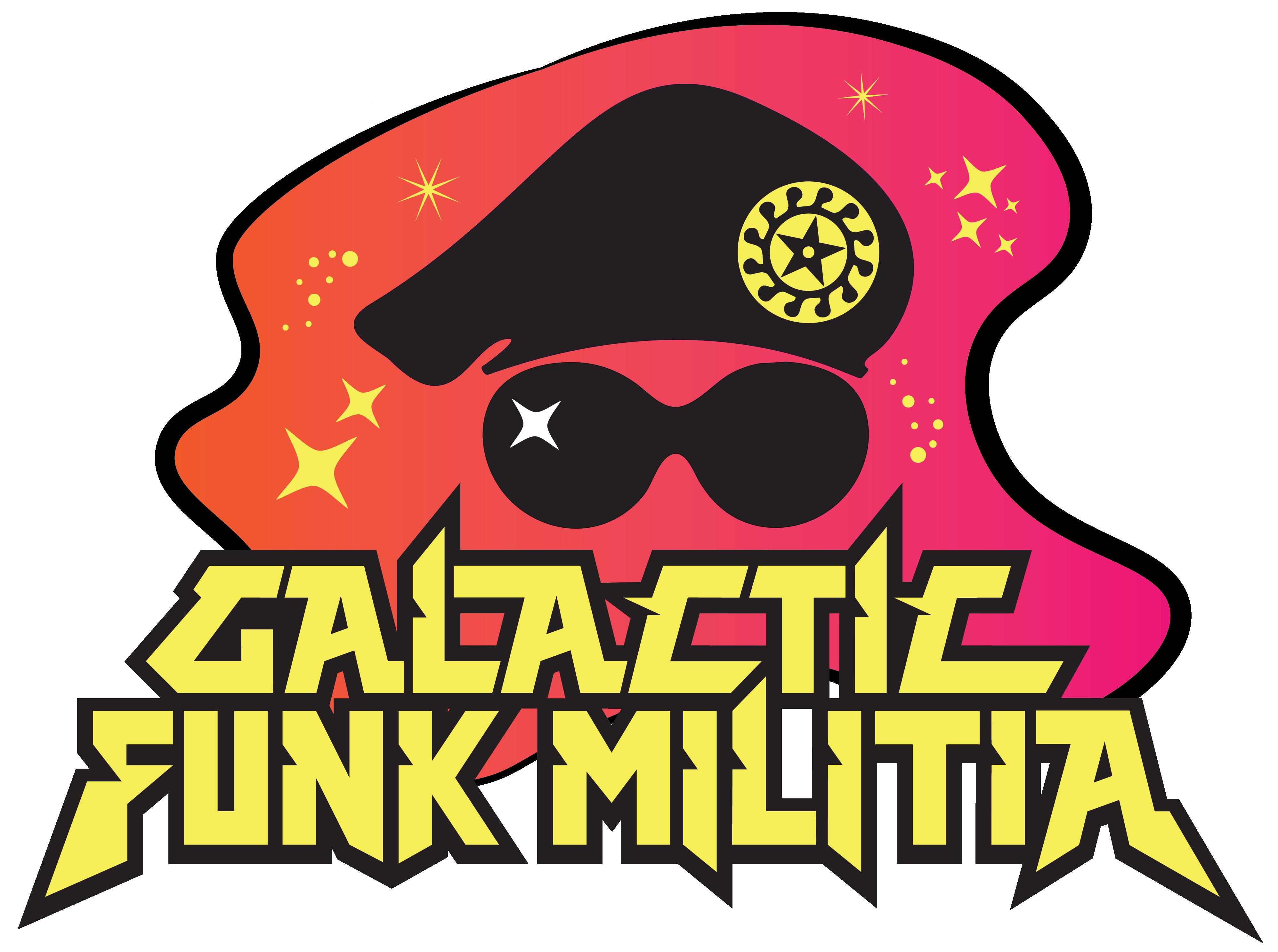 Galaxy clipart one armed. Galactic funk militia st