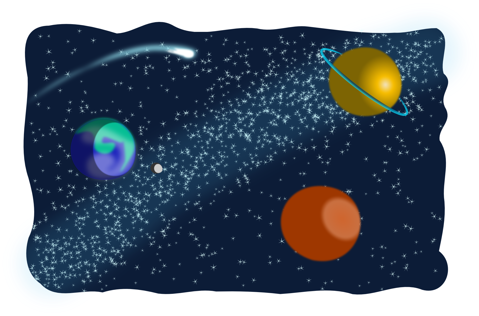 world clip art. Galaxy clipart outer space