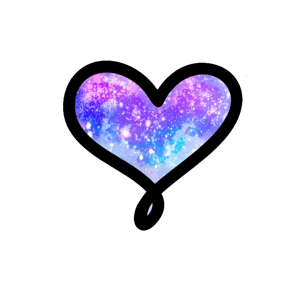 Galaxy clipart purple galaxy. Love heart galaxyheart galaxylove