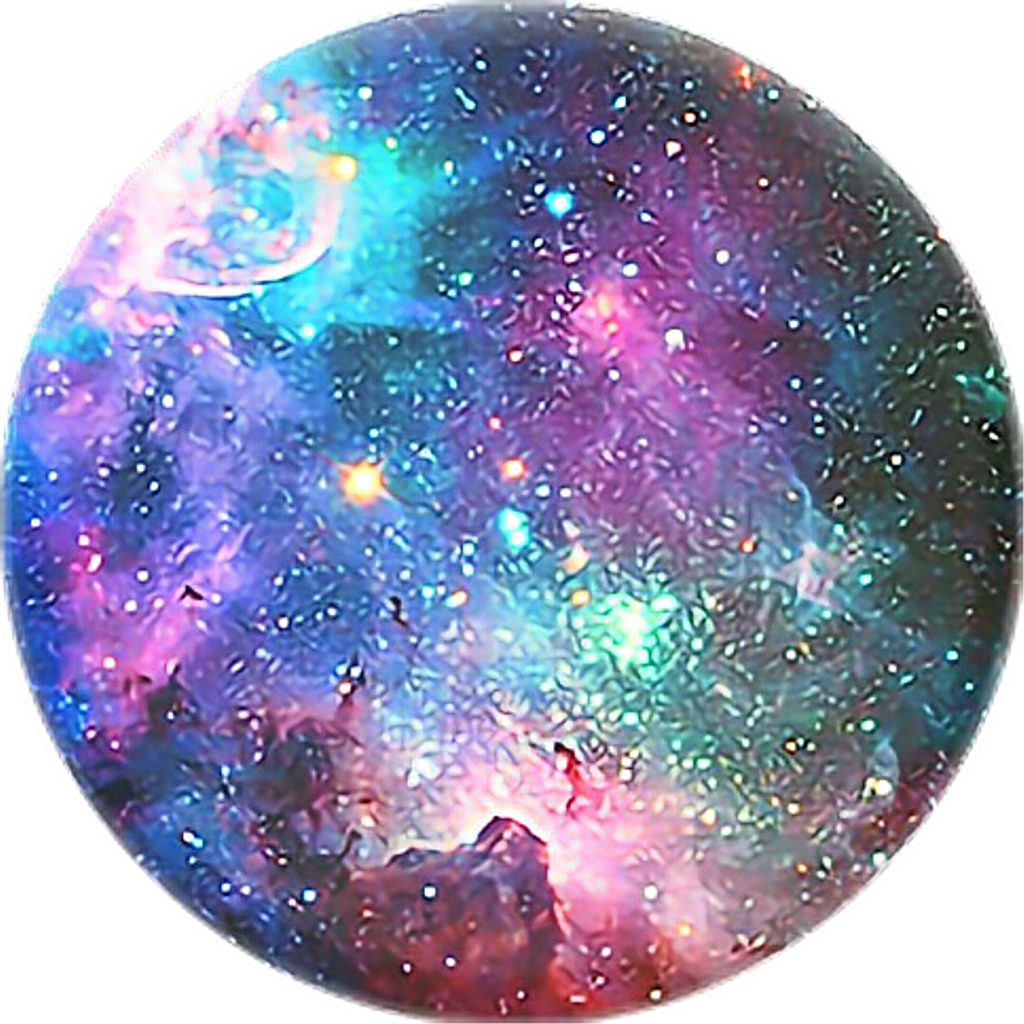 Blue pink yellow. Galaxy clipart purple green