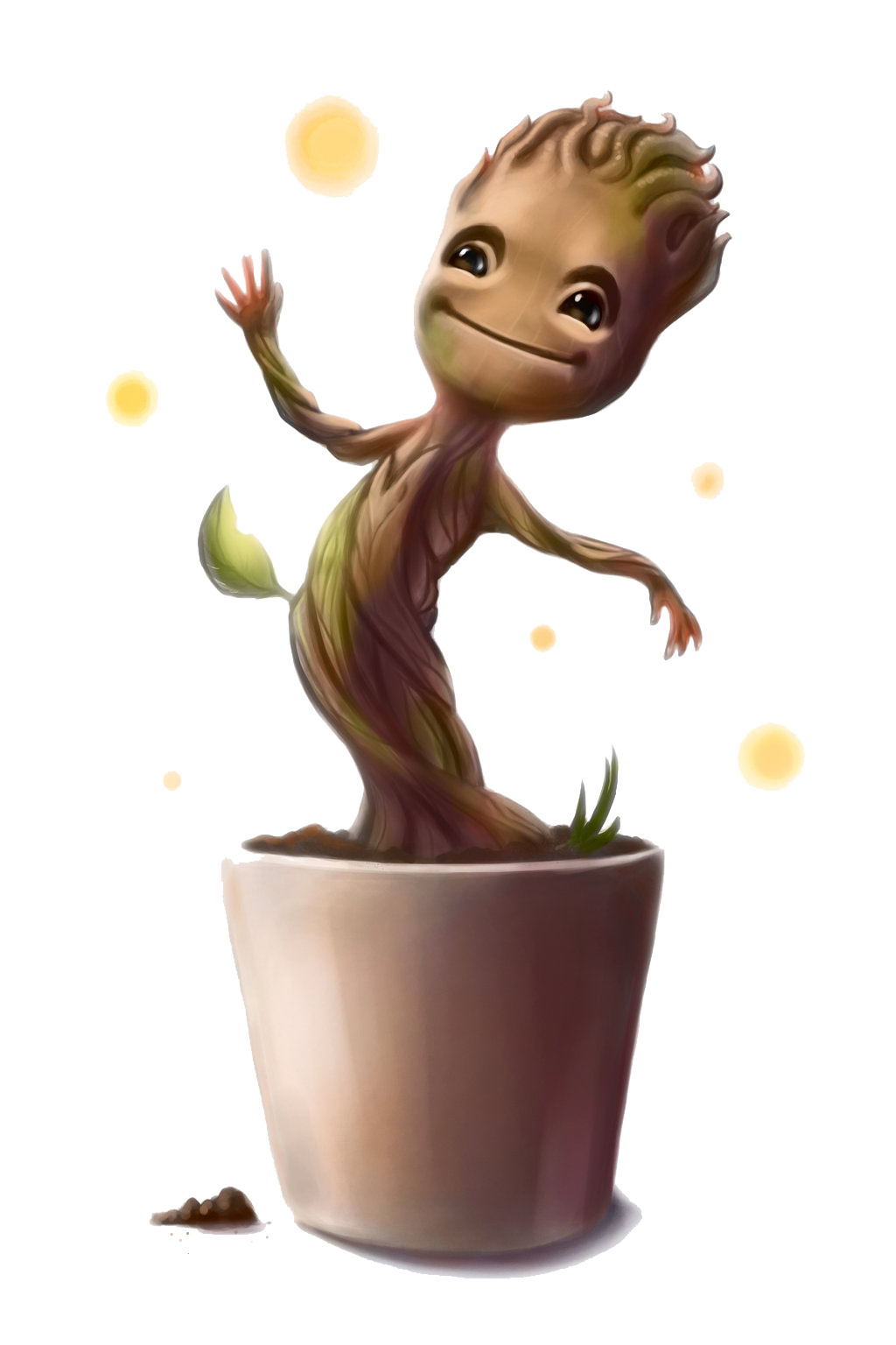 Guardians of the baby. Galaxy clipart red