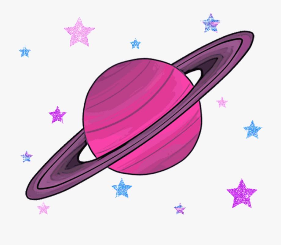 Planets clipart transparent tumblr. Saturn mars jupiter gezegenler
