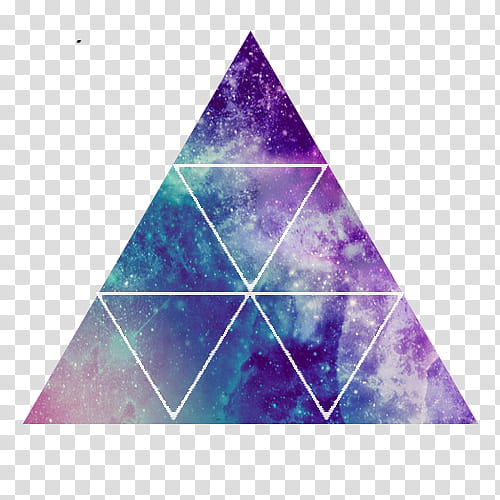 Shapes purple and blue. Galaxy clipart shaped