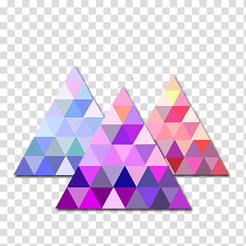 Galaxy clipart shaped. Shapes three multicolored triangles