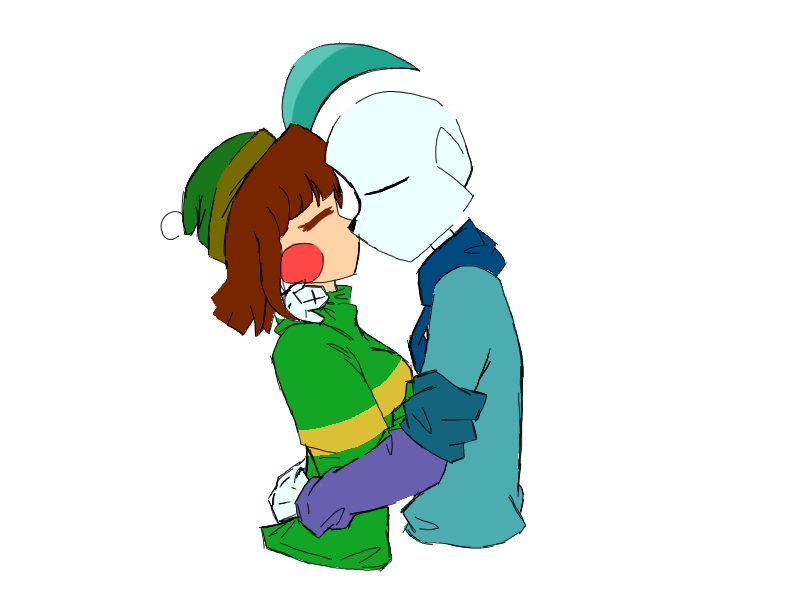 Galaxy clipart shoot for moon. Chara and sans by