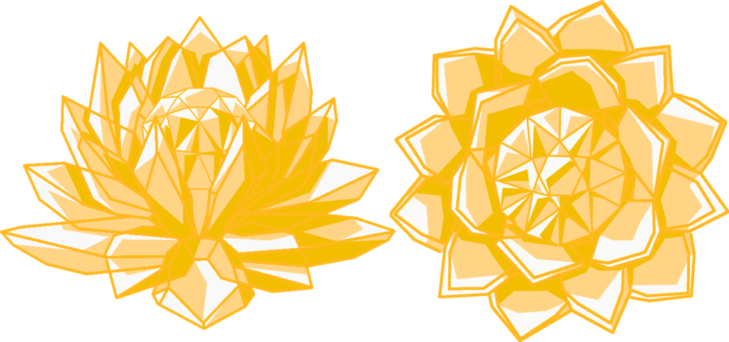 Golden crystal set by. Galaxy clipart smc