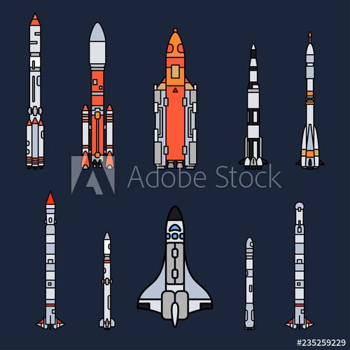 Galaxy clipart space adventure. Line color vector icon