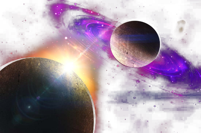 Galaxy clipart space center. Planet sky universe stars