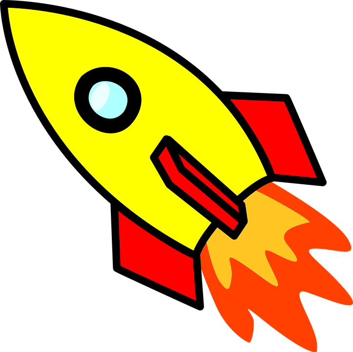 Galaxy clipart space exploration. Free travel rocket pencil