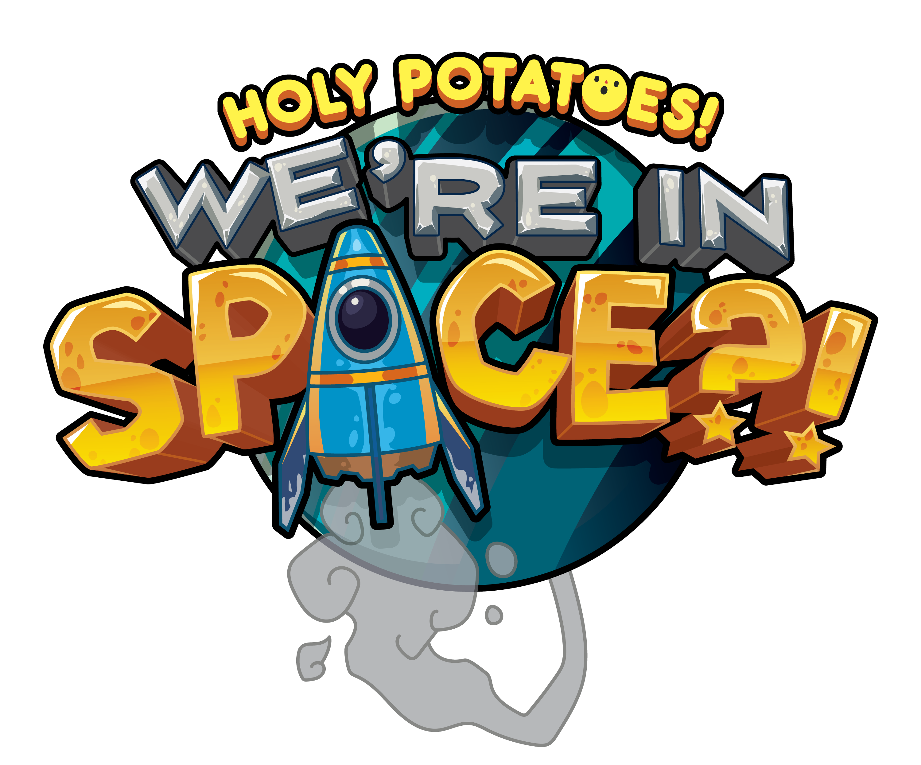 Holy potatoes we re. Galaxy clipart space logo