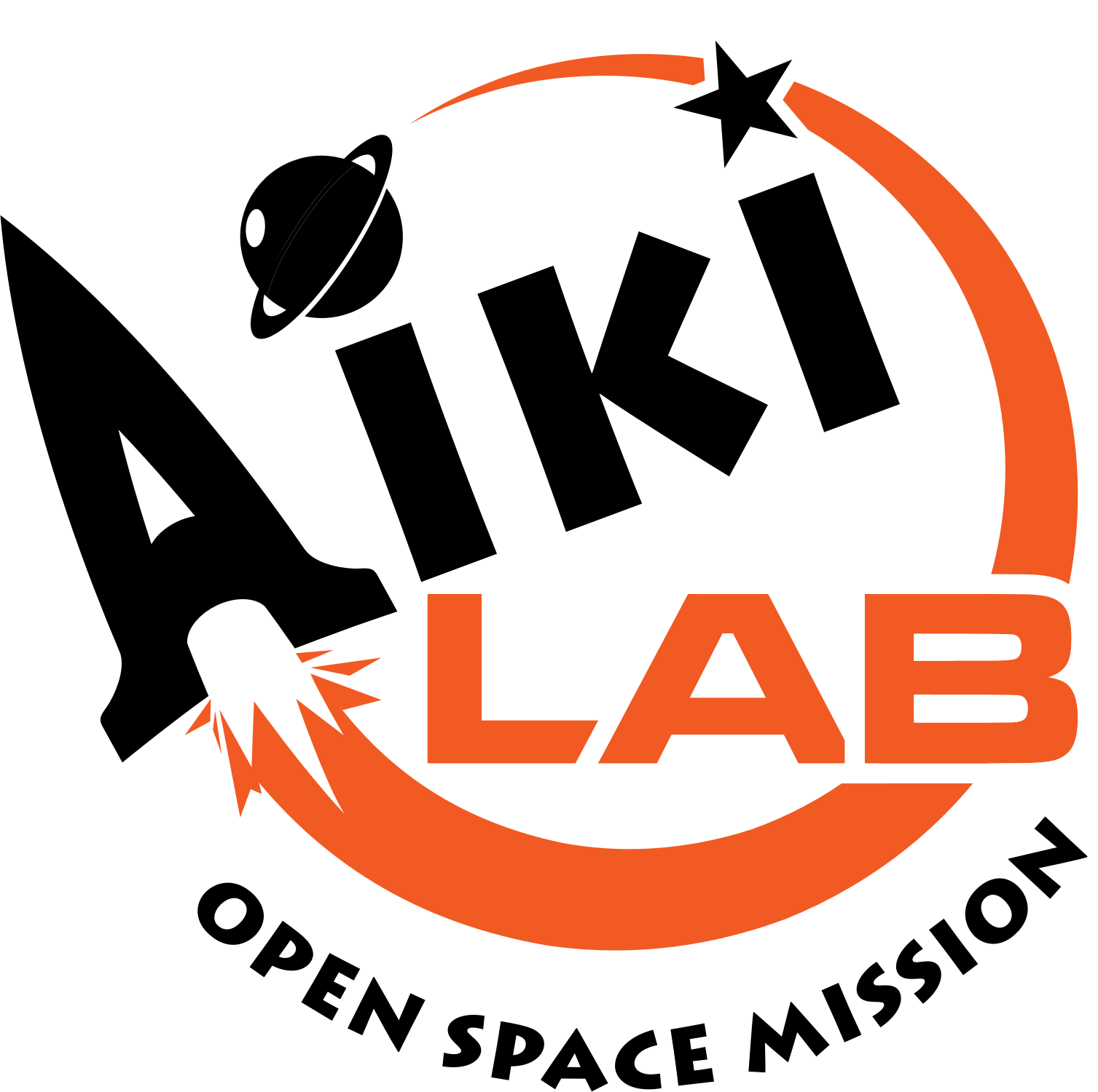 Galaxy clipart space mission. Aiki lab open icons