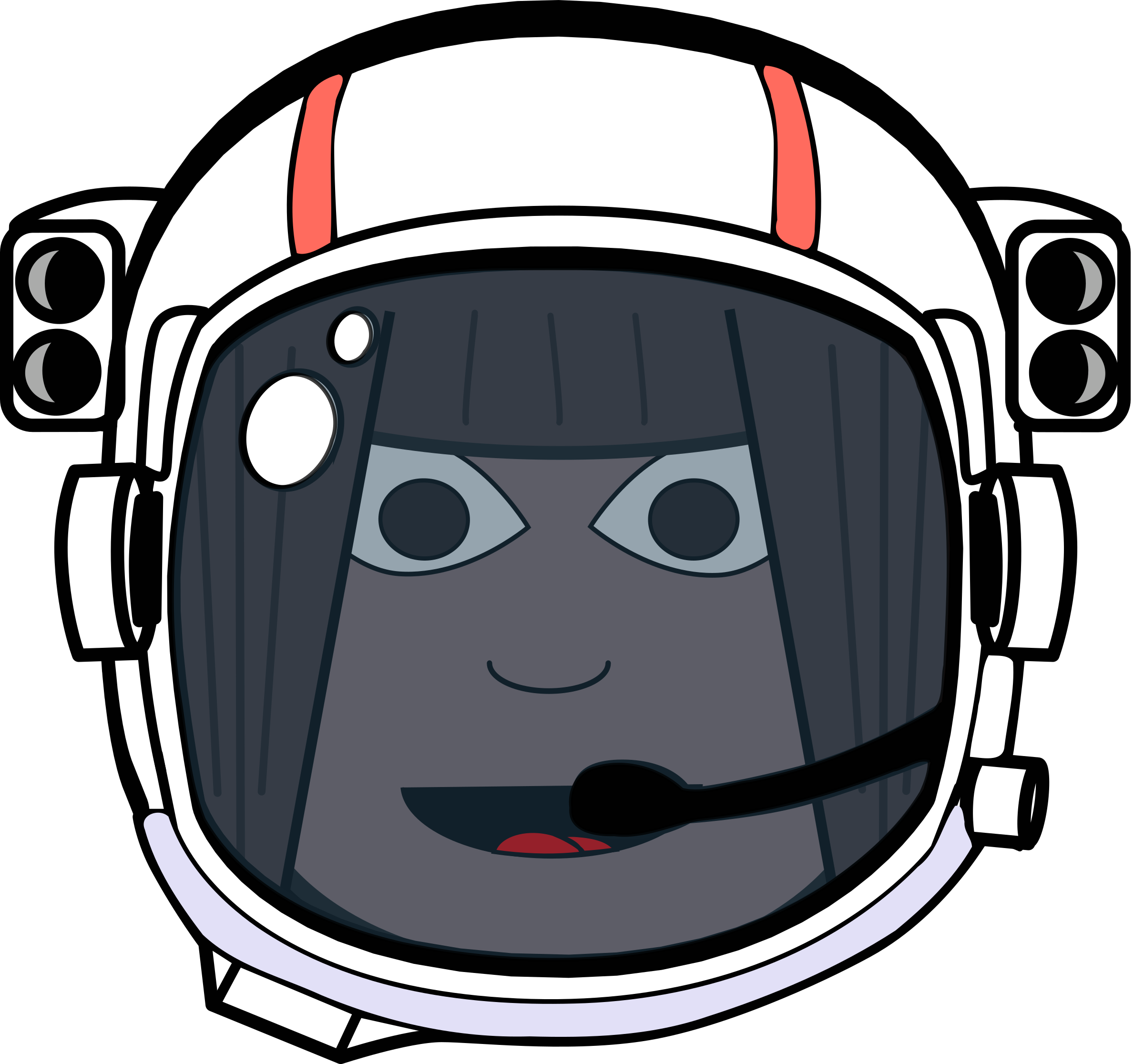 Girls clipart astronaut. Space girl icons png