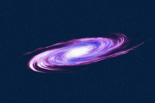 Purple png cloud . Galaxy clipart spiral galaxy