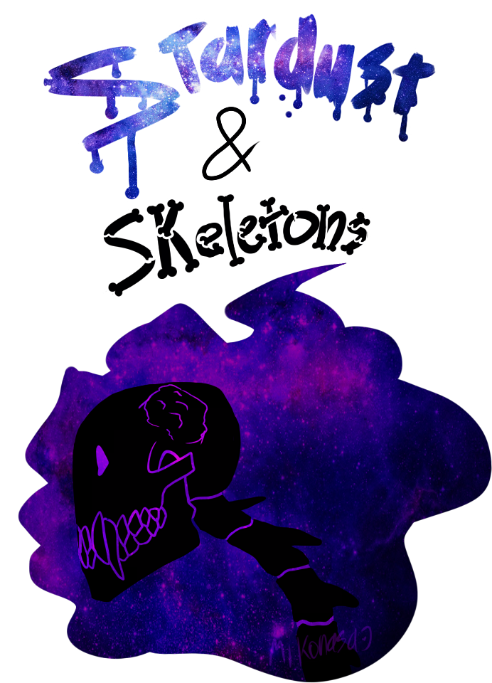 Galaxy clipart stardust. And skeletons by mikonasa