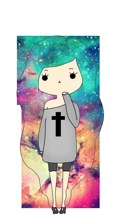 Galaxy clipart strange. Chibi by franceshoran on