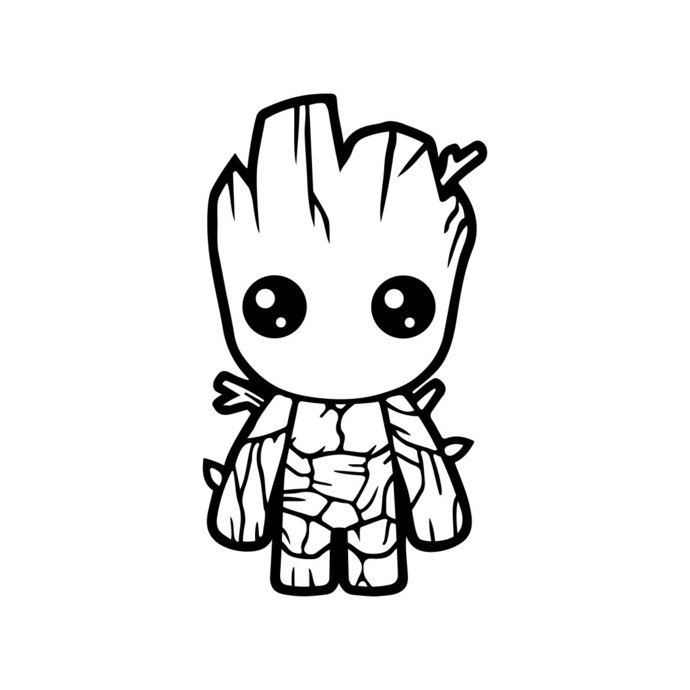 Baby groot guardians of. Galaxy clipart svg