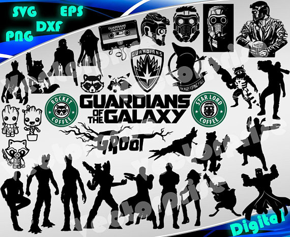 Galaxy clipart svg. Guardians of the superheroes