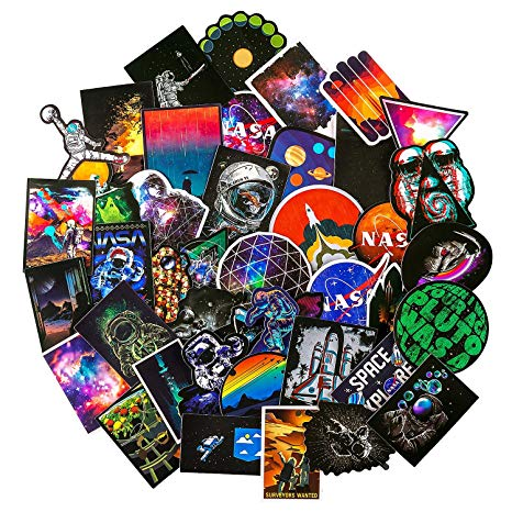 Nasa stickers for laptop. Galaxy clipart time space