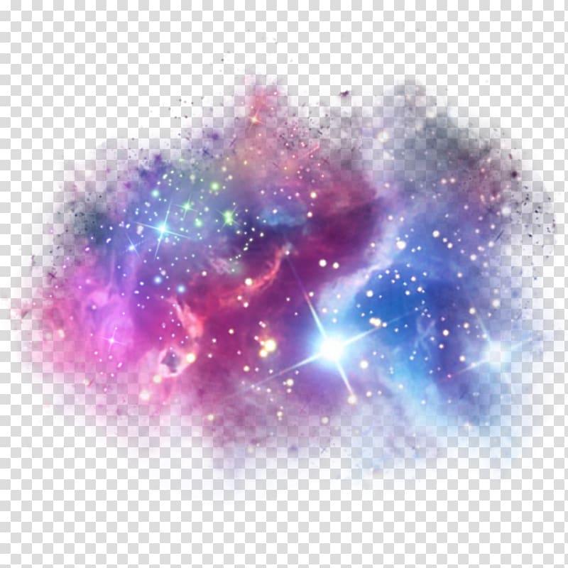 Galaxy clipart transparent. Sticker unicorn picsart studio
