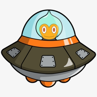 Galaxy clipart typical. Spaceship aliens bitcoin android