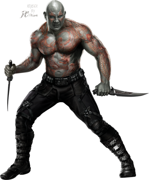 Drax guardians of the. Galaxy clipart universe