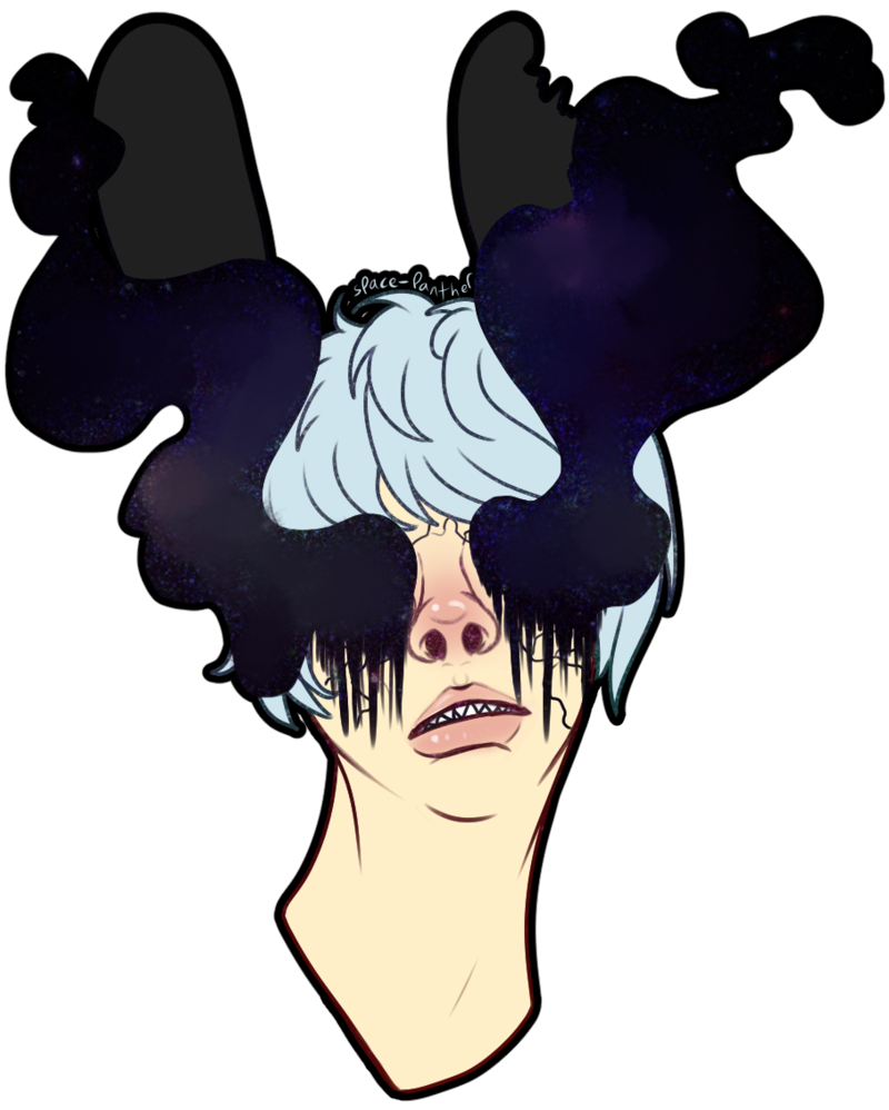 Galaxy clipart void. And null by serpentinesanguinine