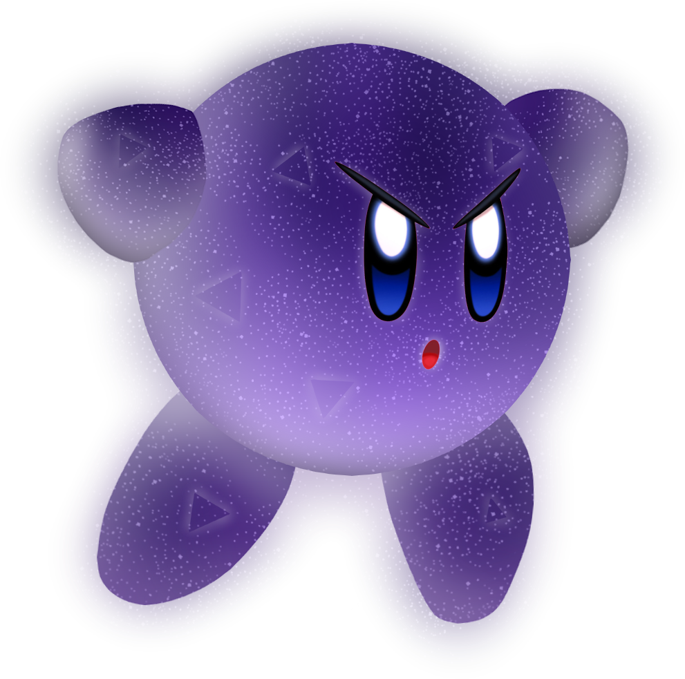 Image kirby keh png. Galaxy clipart void