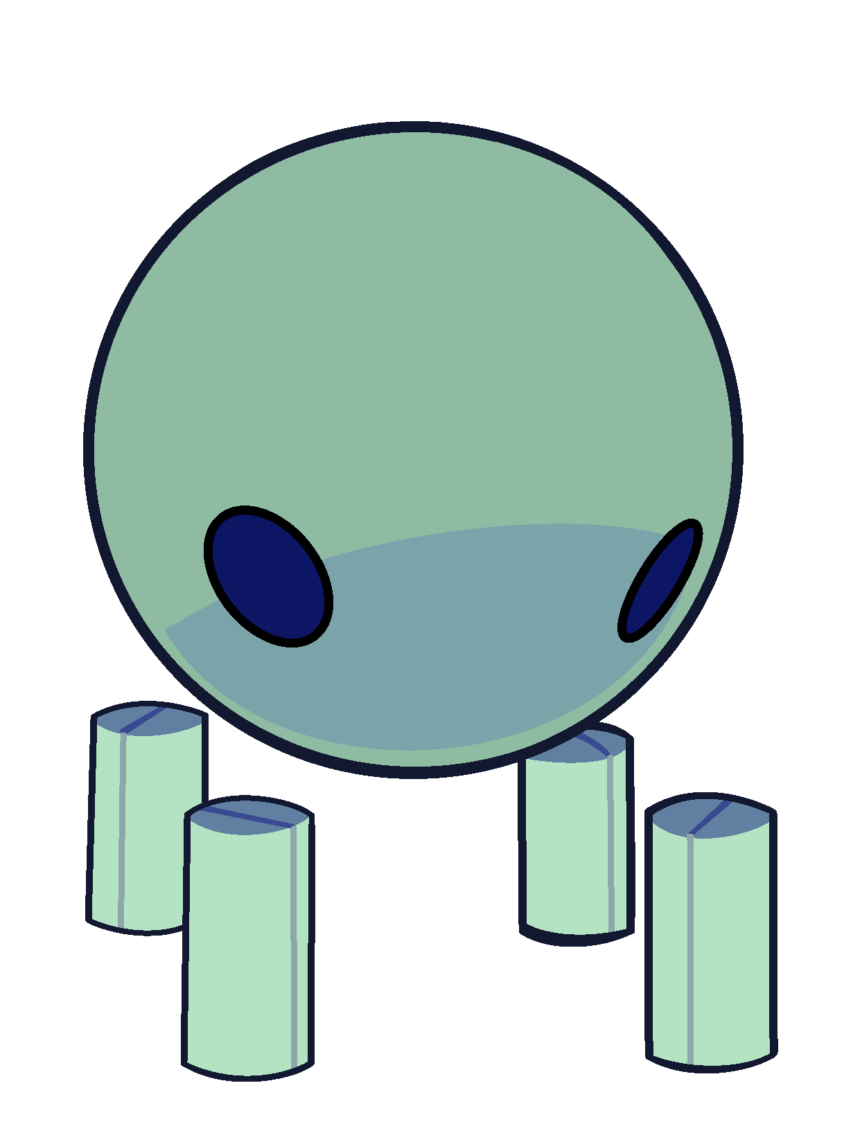 Marbles clipart small object. Flask robonoids steven universe