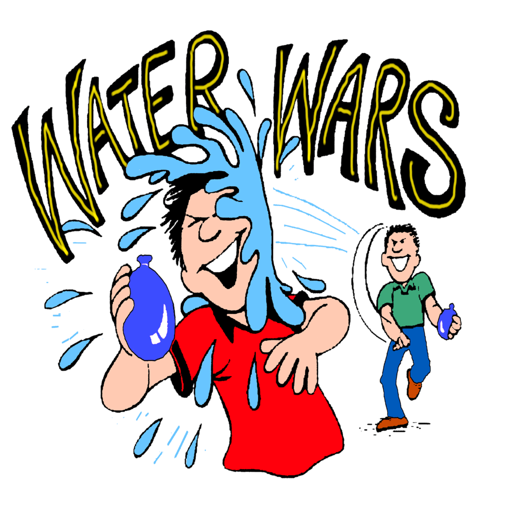 Water balloon fight free. Game clipart animated