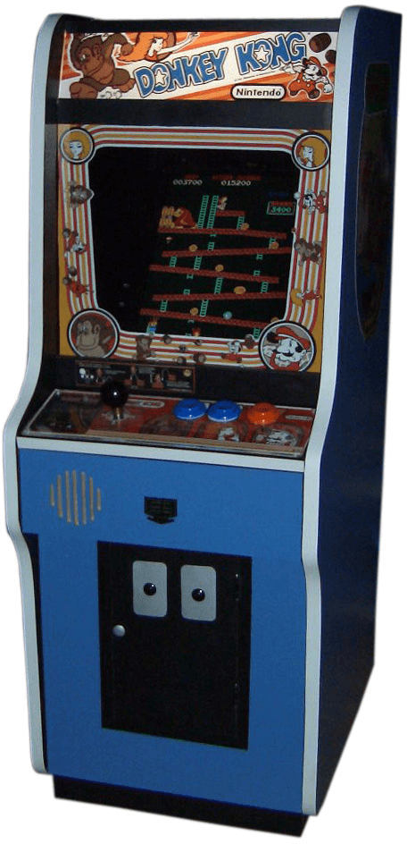 Donkey kong transparent png. Game clipart arcade