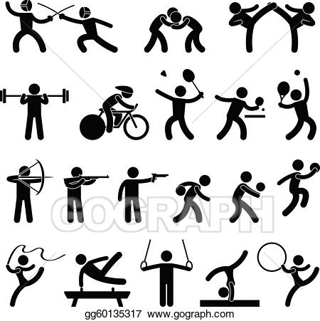 Eps illustration indoor sport. Game clipart athletic game