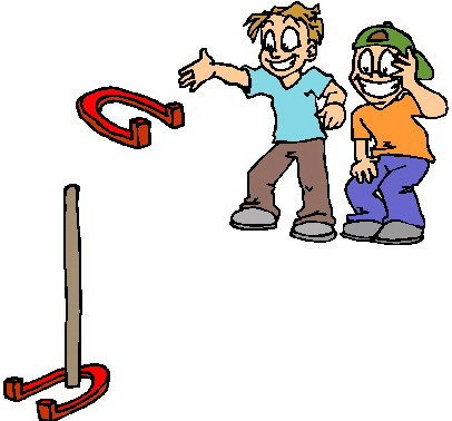 Game clipart backyard game. Free outdoor games cliparts