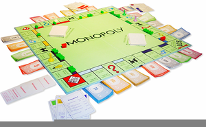 Monopoly board free images. Game clipart baord