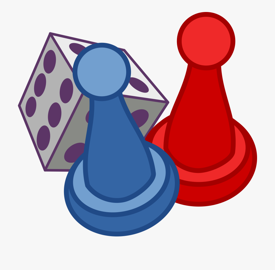 Pieces clip art . Games clipart board game