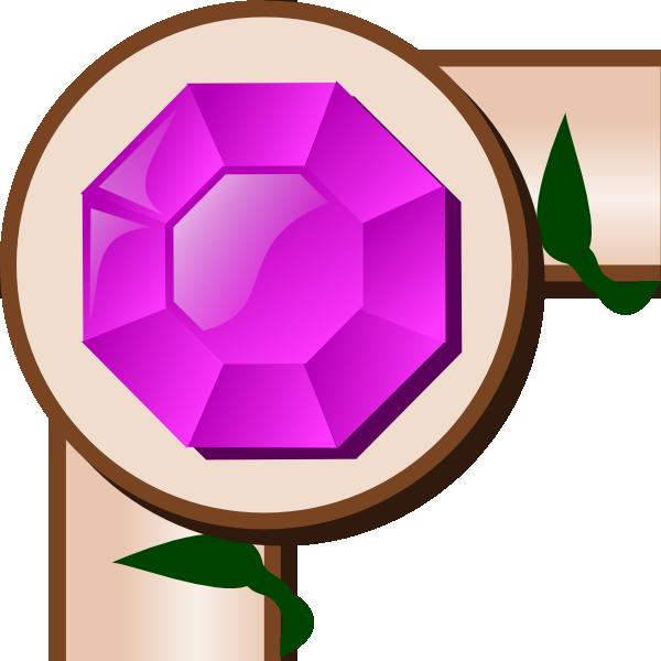 Game clipart border. Map ivy corner clip