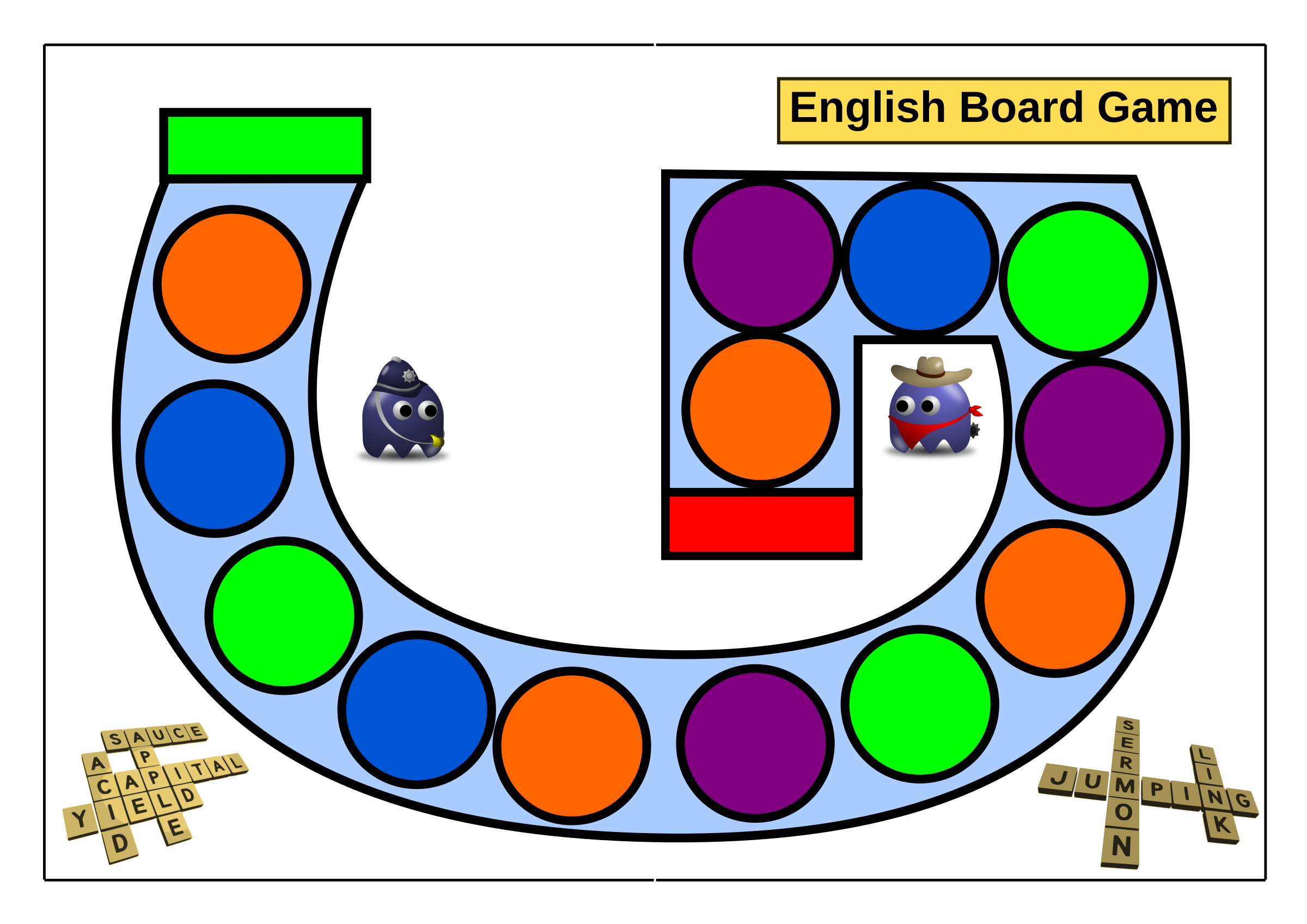 Game image group board. Games clipart carnival