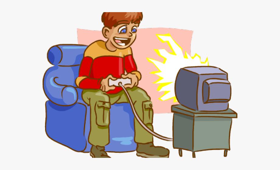 Games clipart cartoon. Video game adhd play