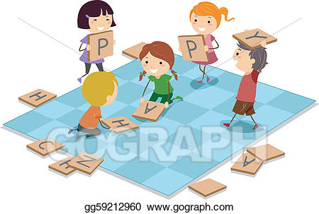 Game clipart child game. Vector art board drawing