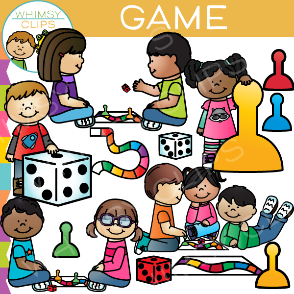Game clipart childhood game. Kids clip art