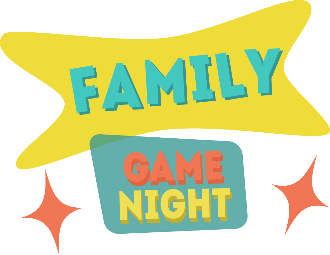 Family games real and. Game clipart game night