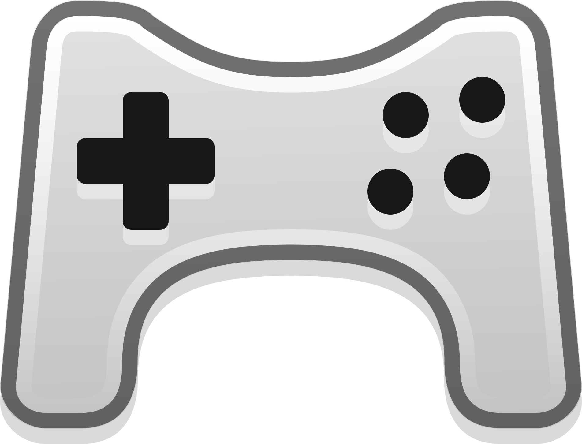 Gamepad big image png. Game clipart game pad